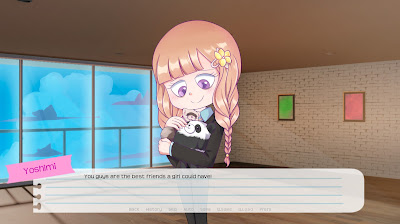 Im Oh So Busy A Week With Yoshimi Game Screenshot 1