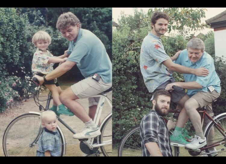 20 Hilarious Before And After Pictures Made By Adults Who Reminisced Their Childhood Years - They know how to have a great time.