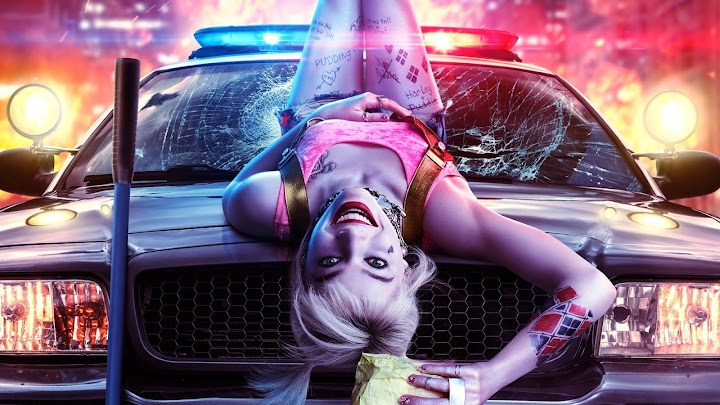 Harley Quinn Birds Of Prey Wallpaper