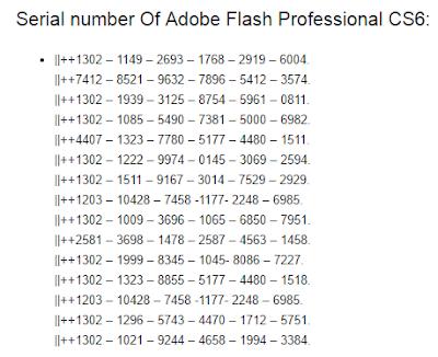 Adobe Flash Professional CS6 + Crack Key Serial Number Free