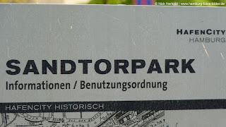 Sandtorpark Hamburg HafenCity