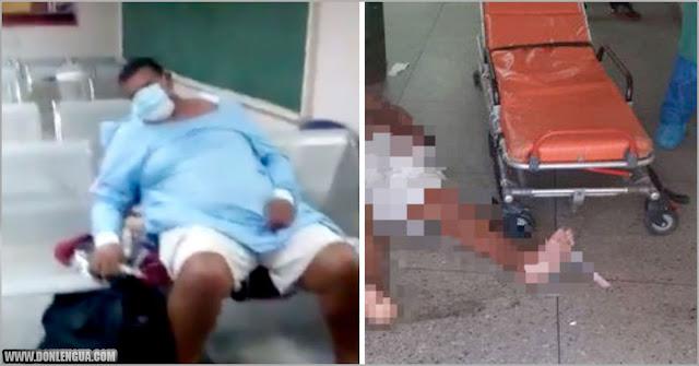 Falleció tras esperar 24 horas a ser atendido en el Hospital Universitario de Maracaibo