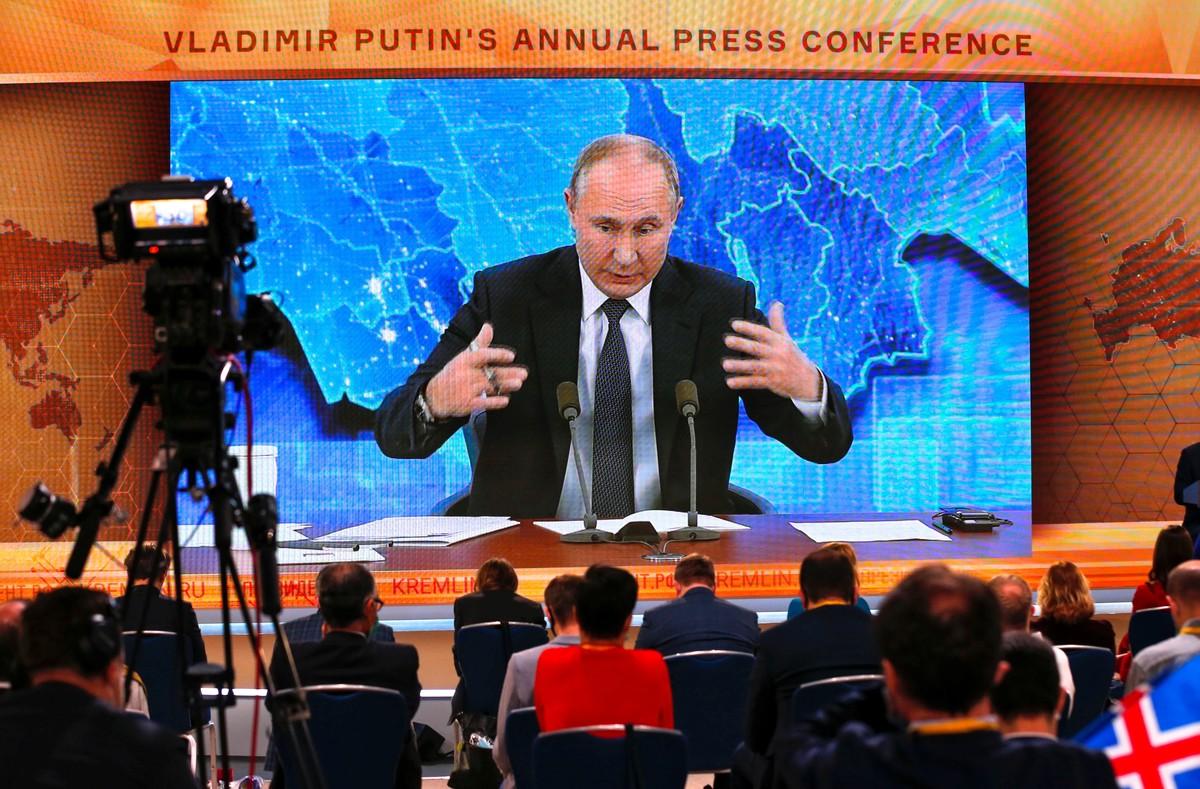 Vladimir Putin dice que no se aplicó la vacuna Sputnik V porque aún no es recomendable para mayores de 60 años