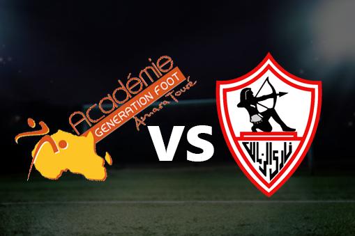 مشاهدة مباراة الزمالك وجينيراسيون فوت بث مباشر بتاريخ 29-09-2019 دوري أبطال أفريقيا