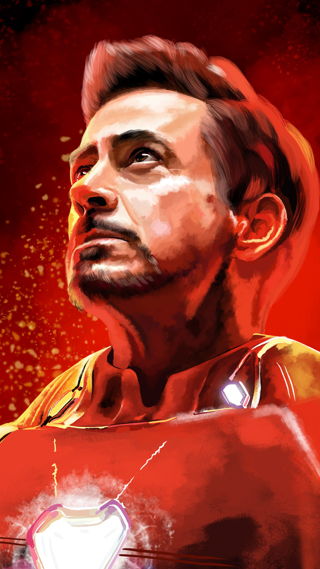 Tony Stark Iron Man mobile wallpaper