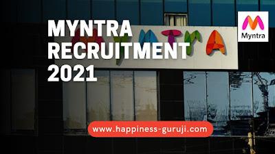 Work from Home Jobs   Myntra Recruitment 2021