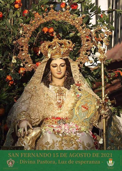 Cartel de la Hermandad de la Divina Pastora de las Almas Coronada de San Fernando