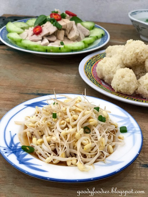 Ipoh style beansprouts recipe