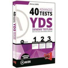 Yargı Advanced 40 Tests YDS Deneme Testleri (2015)