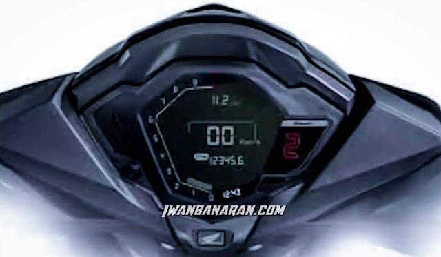 Spedometer New Honda Supra GTR150 Facelift