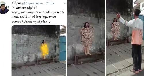 Terancam Pasal Berlapis, Penyebar Video Dokter Tanpa Busana di Jalan Masih Buron