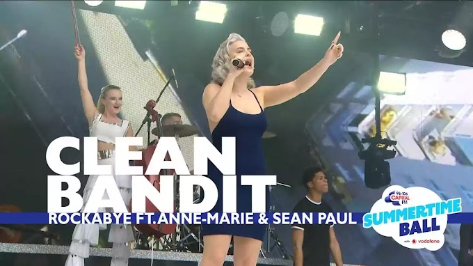 ROCKABYE LYRICS — CLEAN BANDIT × ANNE MARIE | NewLyricsMedia.Com