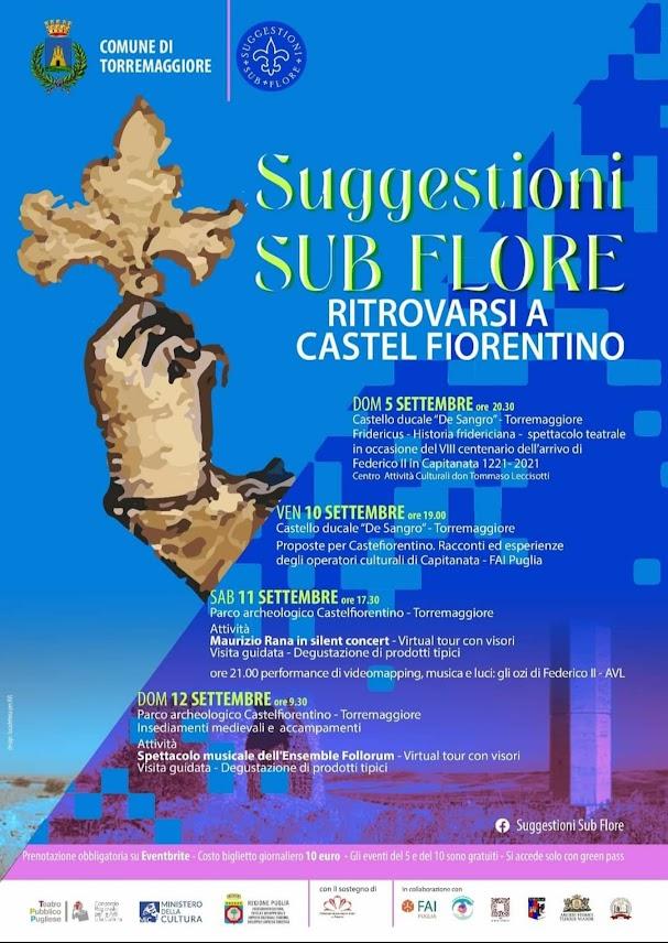 """Torremaggiore (Fg): """"Suggestioni Sub Flore. Ritrovarsi a Castelfiorentino"""""""