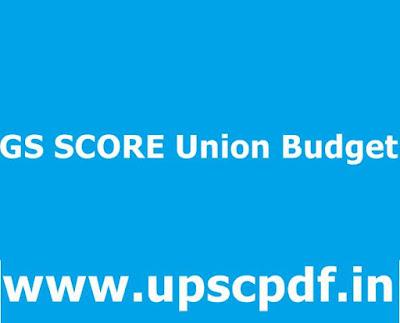 GS-SCORE-Union-Budget-2020-2021