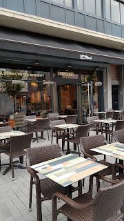 terrasse extérieure restaurant