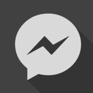 messenger shadow button