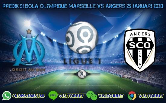 Prediksi Skor Olympique Marseille vs Angers 25 Januari 2020