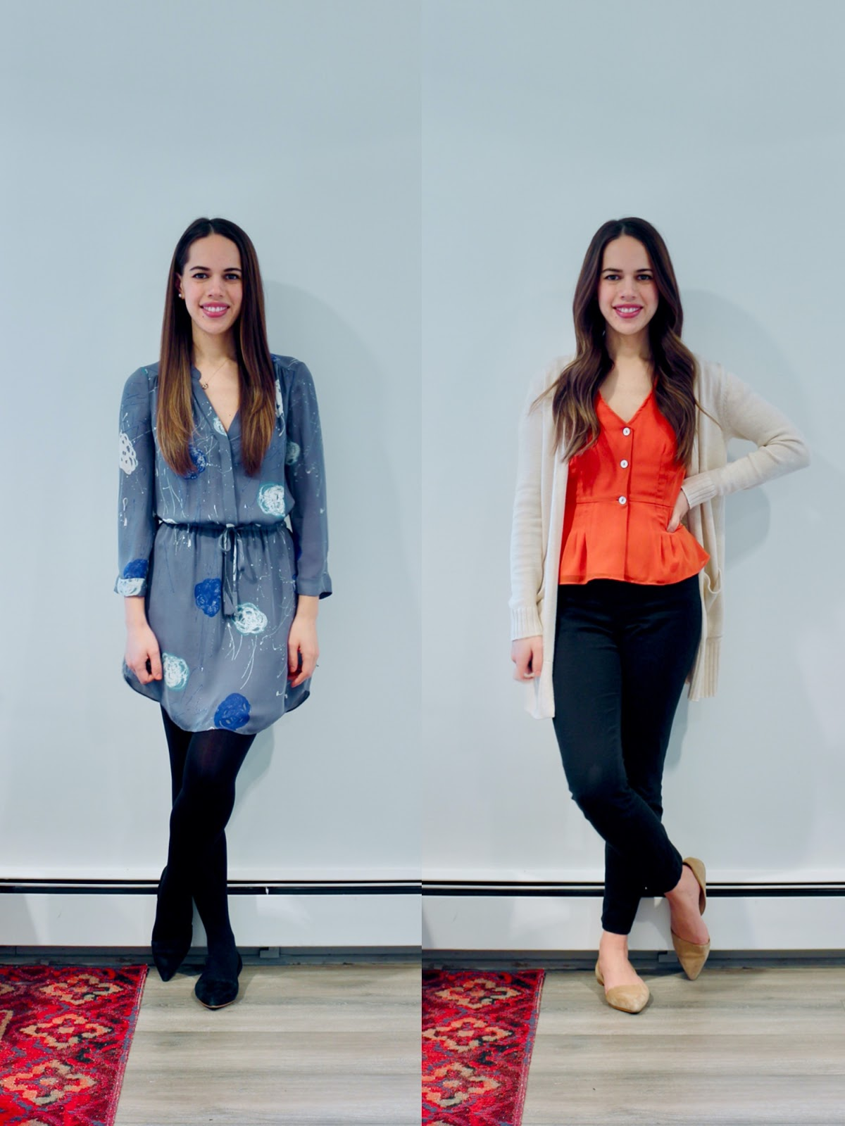 Jules in Flats - February Outfits Week 3 (Business Casual Winter Workwear on a Budget)