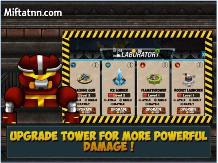 Game Perang Offline Seru Android Tower War Defense Mod Apk