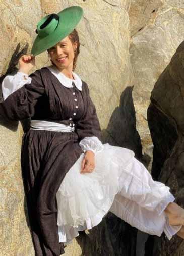 roupa de praia século XIX