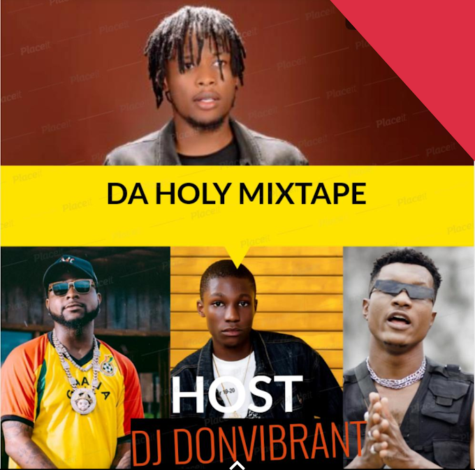 Mixtape - DA HOLY mixtape [hosted by mashup enterprise]