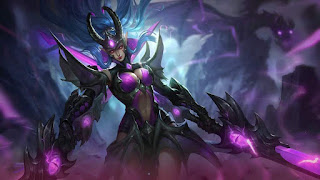Download Script Skin Karina - Doom Duelist (Mobile Legend)