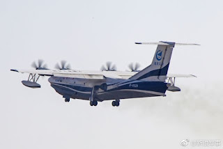 Segundo vuelo del AG600