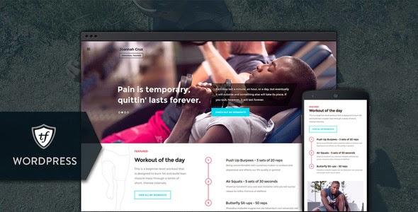 Premium Fitness WordPress Theme