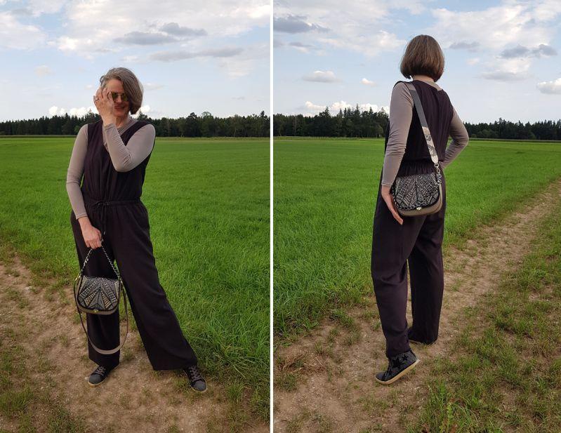 Zoé Lu mit Klappe Shooting Star und schwarzer Taschenkette