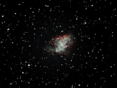 "M1 - The ""Crab Nebula"" Imaged by Albert Brox III"