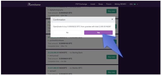 How to buy and sell bitcoin on Remitano