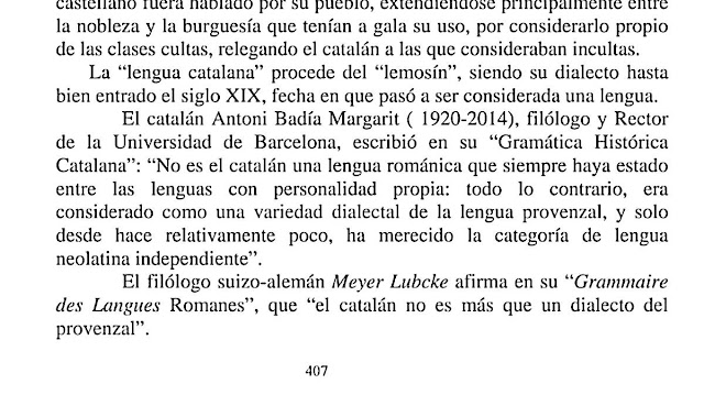 Meyer Lübcke, catalán, provenzal