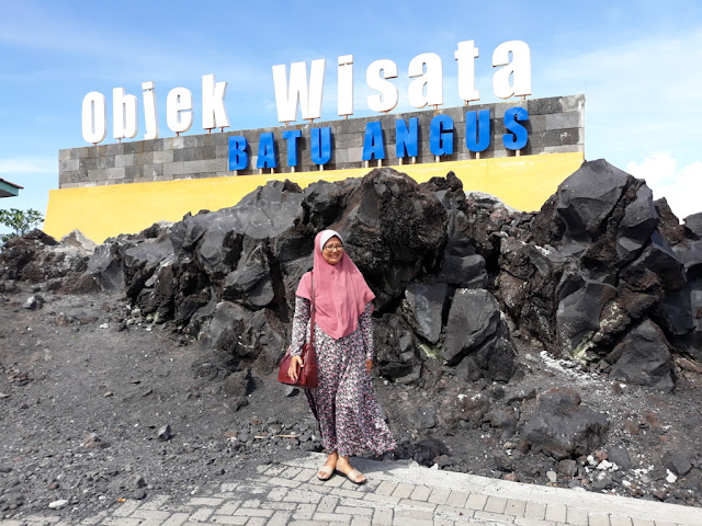 Obyek Wisata Batu angus Ternate