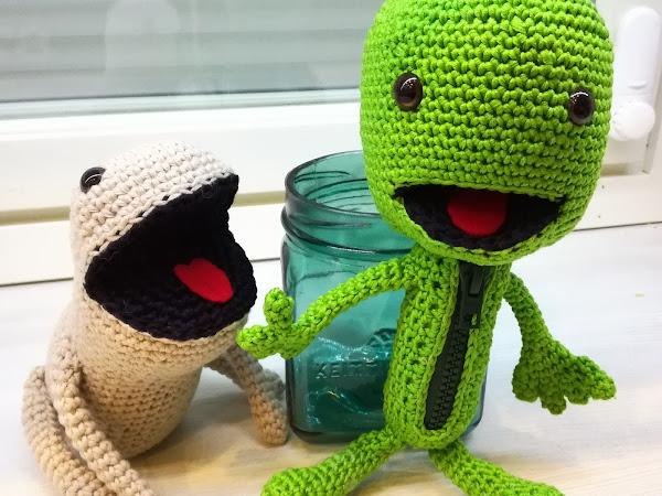 Virkatut LittleBigPlanet hahmot - Oddsock & Sackboy