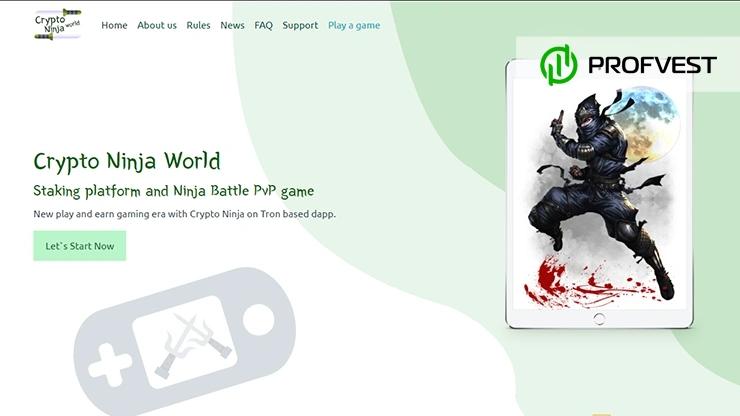 Crypto Ninja World обзор и отзывы проекта