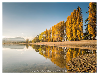 Autumn, Golden Hour, Sunrise, Wanaka