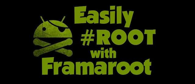 Cara Mudah Root Semua Jenis Android Tanpa PC menggunakan Framaroot