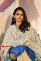 Actress Rakul Preet Singh Stills in Blue Salwar Kameez at Rarandi Veduka Chudam Press Meet  0014.JPG