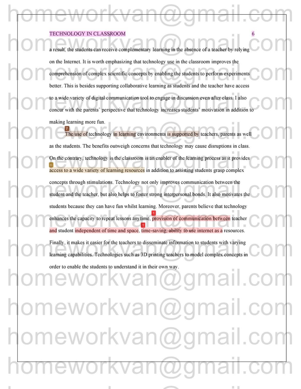 does technology get in the way of learning essay