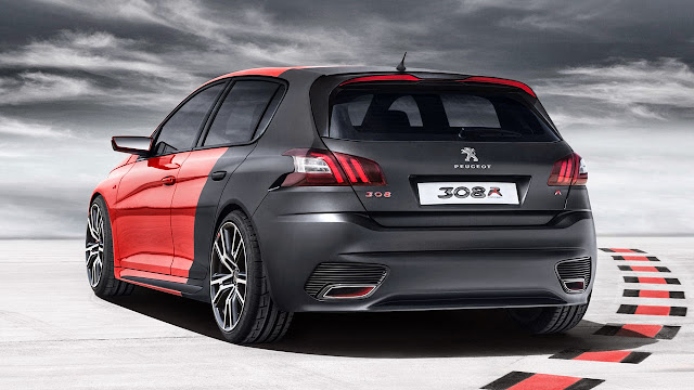 Peugeot 308 R Concept Car rear side