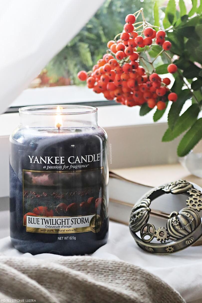 yankee candle blue twilight storm nowy zapach na jesień 2018
