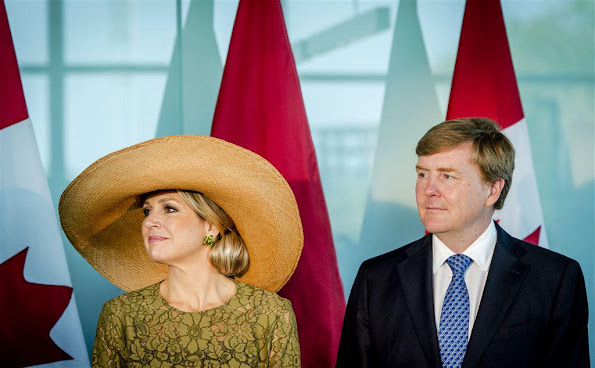 King Willem-Alexander and Queen Maxima of The Netherlands attended the higher education mission at the University of Waterloo