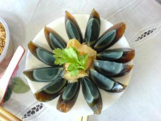 Century Egg :China  bizzare food
