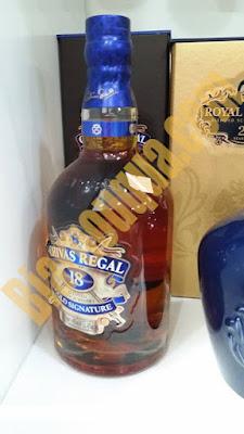 Hình ảnh thật rượu whisky Chivas Regal 18