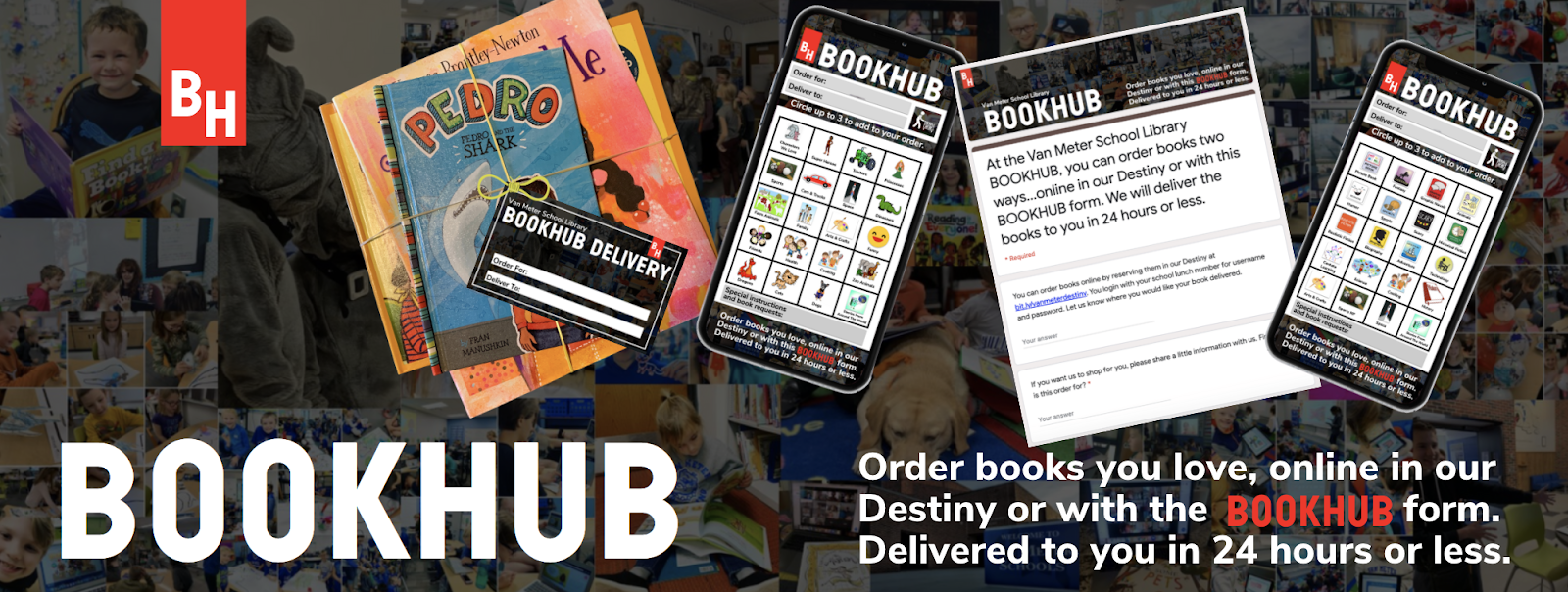 """The Library Voice: BOOKHUB...A Fun Way For Readers To """"Order ..."""