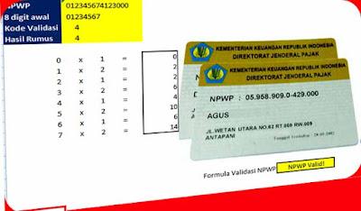 Aplikasi Cek Validitas NPWP, Menguji Kevalidan Nomor Pokok Wajib Pajak