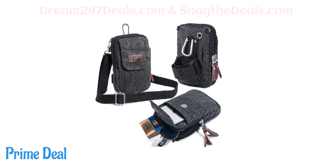 60% OFF Mens Casual Travel Body-pouch