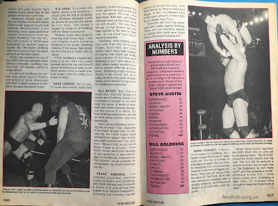 Inside Wrestling  - November 1998 - Steve Austin vs. Bill Goldberg - Who Would Win and Why? (2)