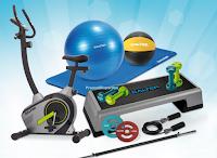 Logo Scholl porta la palestra in casa tua! vinci 12 kit Fitness Salter