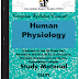 Human Physiology PDF Study Materials cum Notes, Bio-Technology BME E-Books Free Download